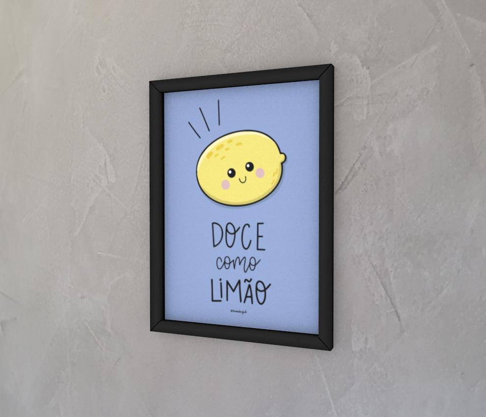 dobra - Quadro - Doce como limão