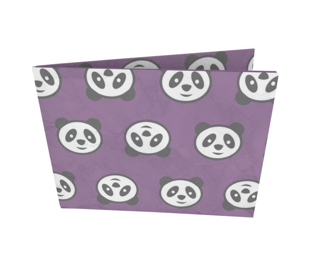 dobra - Nova Carteira Clássica - Cara de Panda
