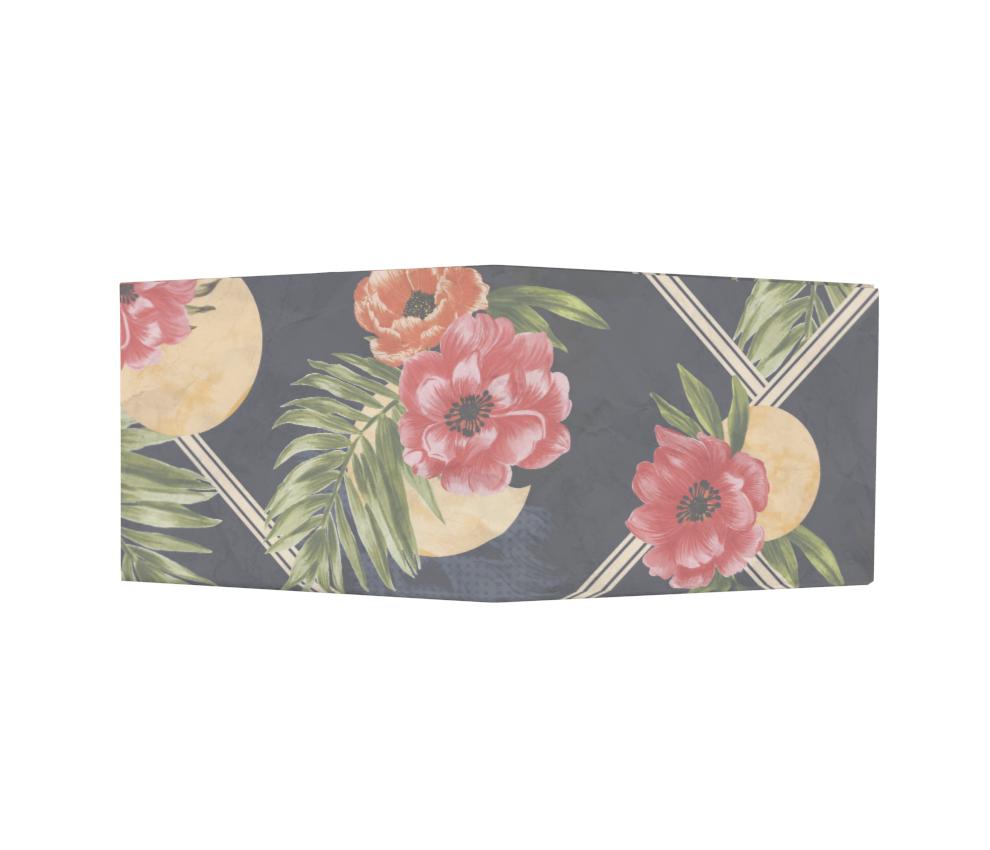 dobra - Nova Carteira Clássica - Lua Floral