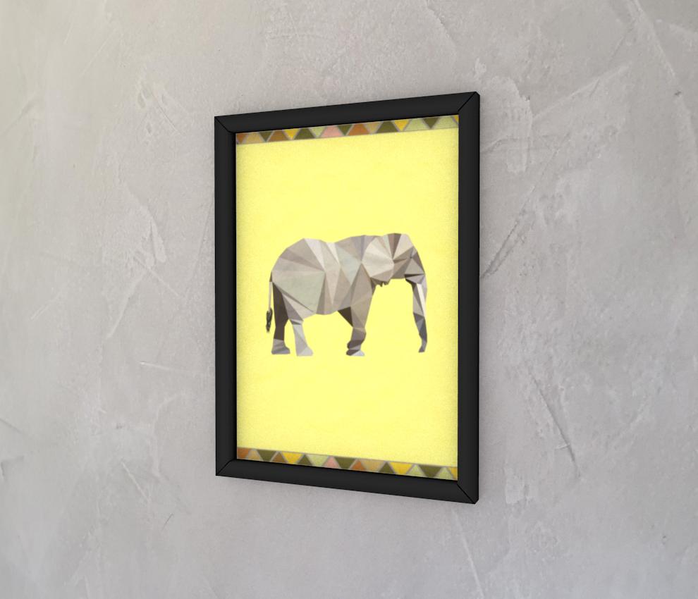 dobra - Quadro - Elefante