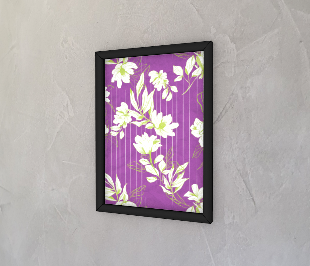 dobra - Quadro - Floral Neon
