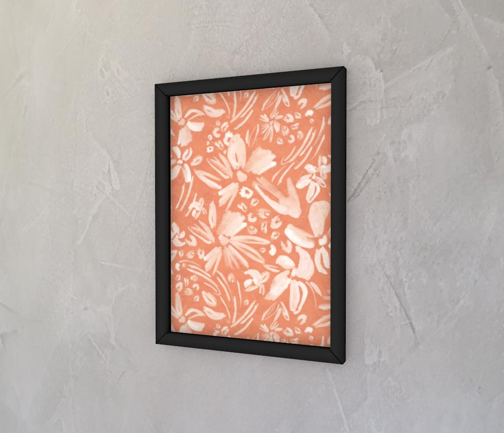 dobra - Quadro - Floral Aquarelado
