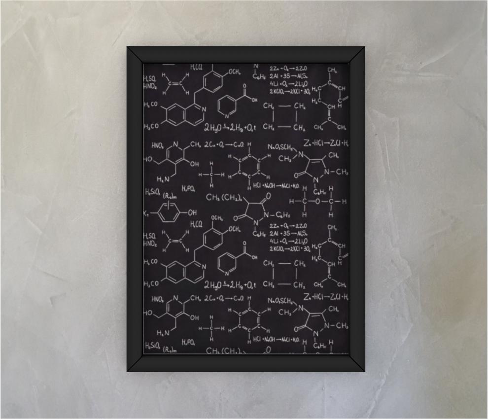 dobra - Quadro - Fórmulas químicas