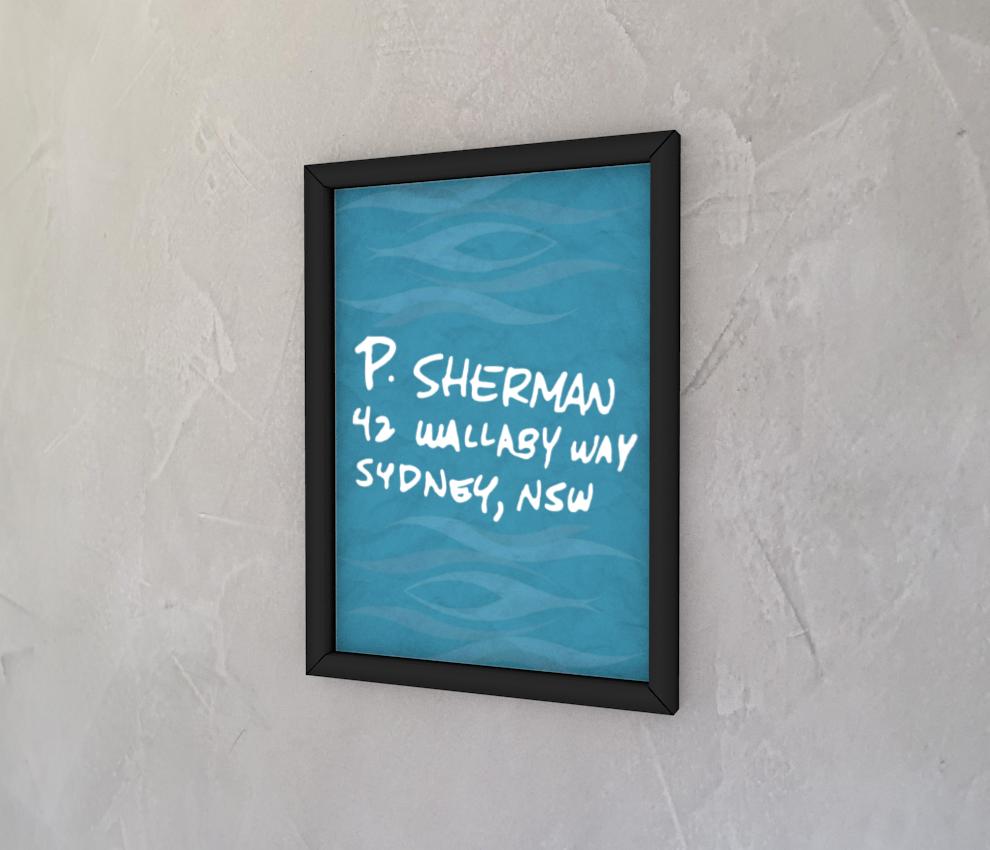 dobra - Quadro - P. Sherman 42 Wallaby Way Sydney, NSW