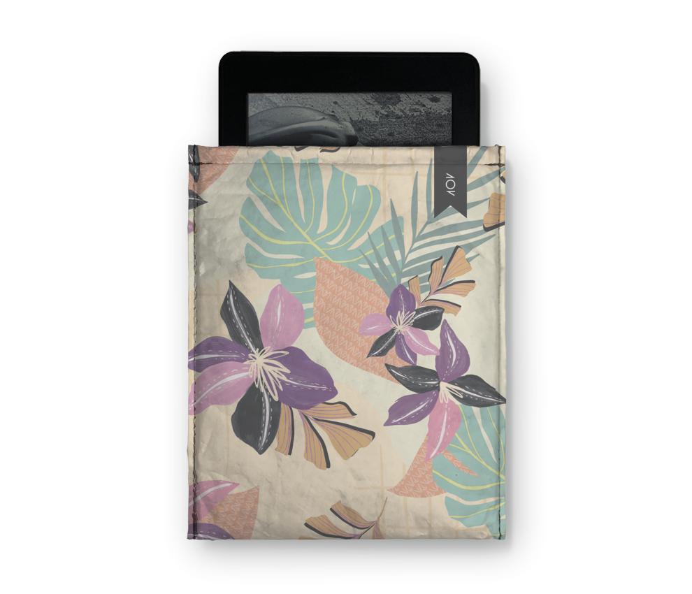 dobra - Capa Kindle - Floral Grid
