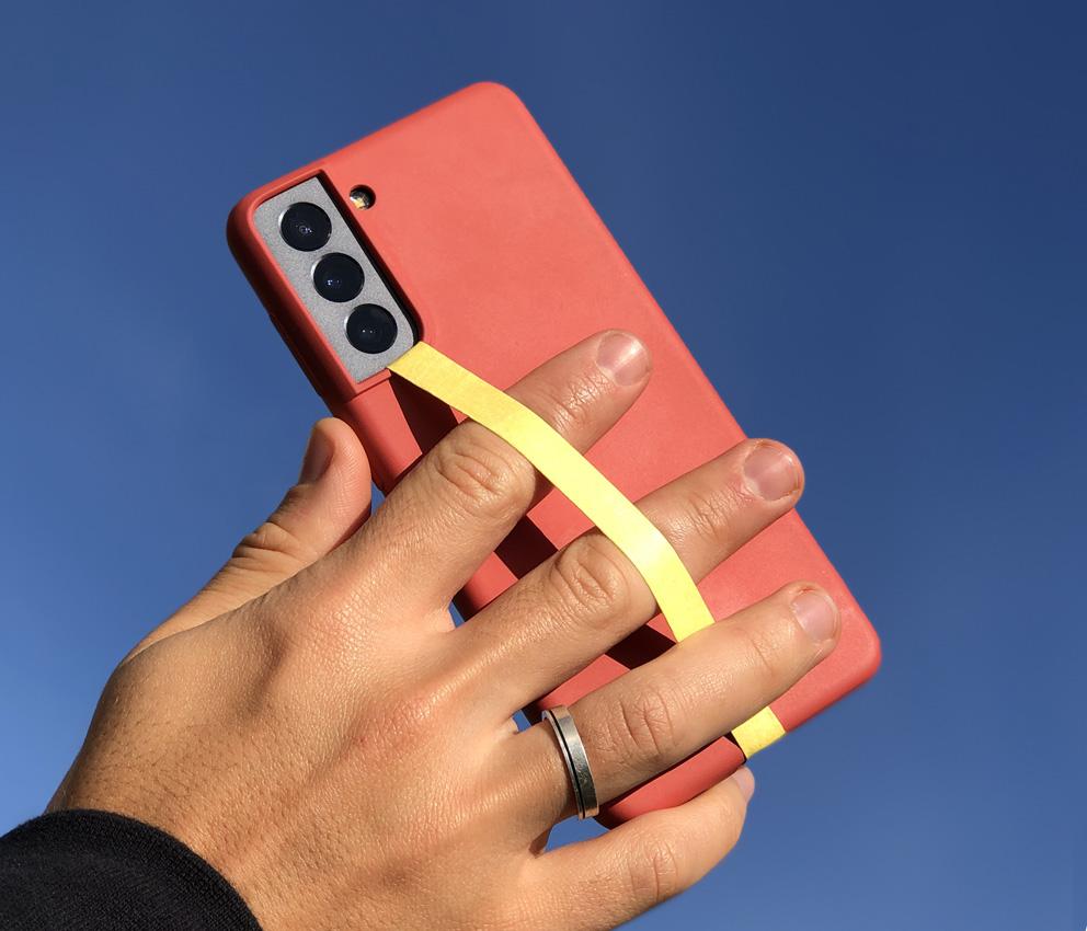 dobra fita celular amarela