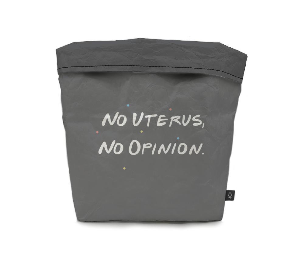 dobra - Cachepô - No uterus, no opinion.
