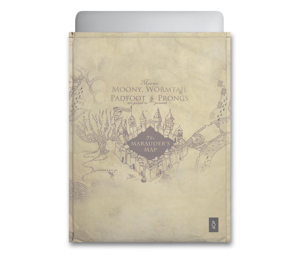 dobra - Capa Notebook - mapa do maroto