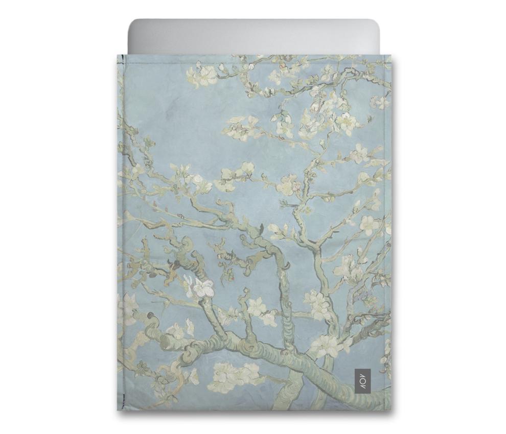 dobra - Capa Notebook - amendoeira em flor