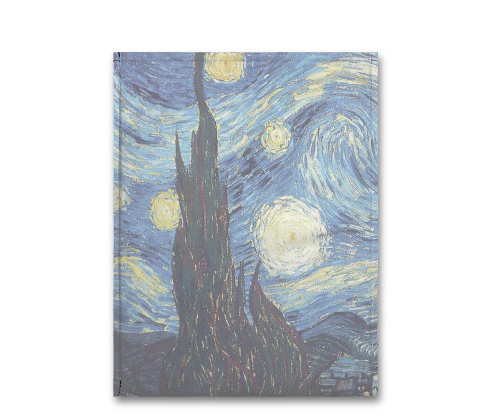 dobra - Capa Notebook - noite estrelada