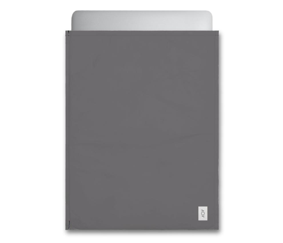 dobra - Capa Notebook - preta (cinza) básica