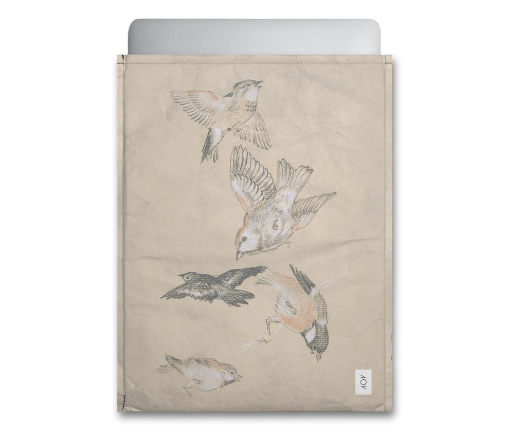 dobra - Capa Notebook - Pássaros