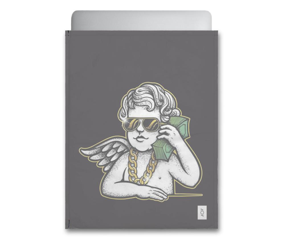 dobra - Capa Notebook - Anjinho ostentação